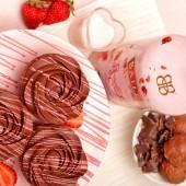 Шест капкейка с Baileys Strawberries & Cream