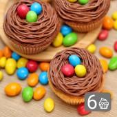 6 Великденски кексчета