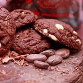 Бисквити двоен шоколад с орехи - 500 г