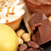Кутия Круша, карамел и шоколад