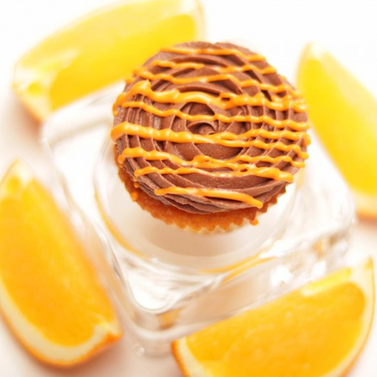 24 Мини капкейка Портокал и шоколад