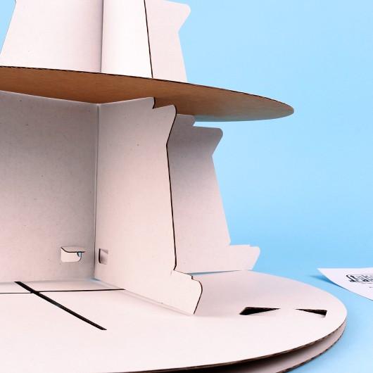 Две триетажни стойки за еднократна употреба