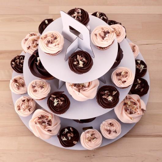 Капкейк торта Малиненберг