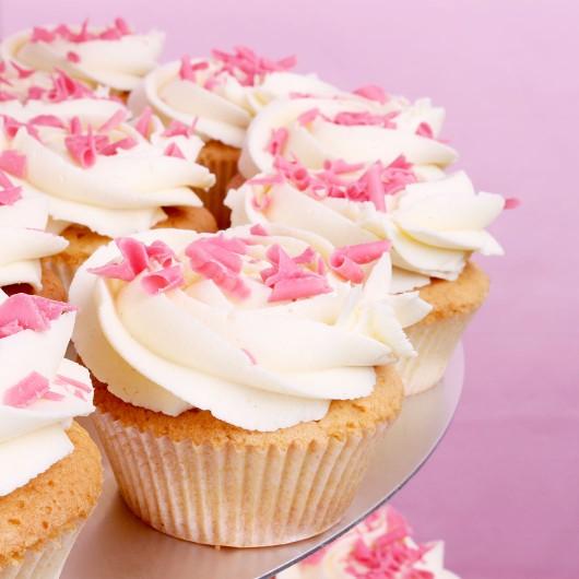 Сватбена капкейк торта Ванилия