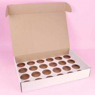 Кутия за 24 кексчета