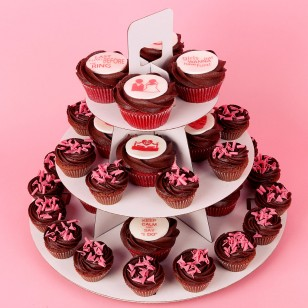 Капкейк торта за моминско парти