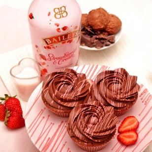 Капкейк с Baileys Strawberries & Cream
