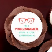 Programmers' Day Cupcake
