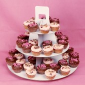 60 Cocoa-raspberry sighs Cupcake Set