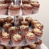 Chocolate and Hazelnuts Wedding Cupcake Set