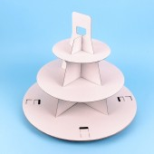 Two 3 Tier Disposable Cupcake Stands
