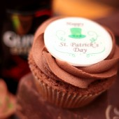 Happy St. Patrick's Day Cupcake