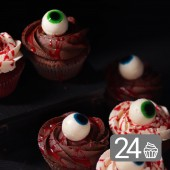 Monstrous Promo Set of 24 Cupcakes for Halloween