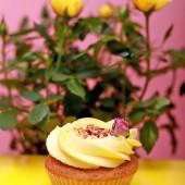 Rose Cupcake for Palm Sunday