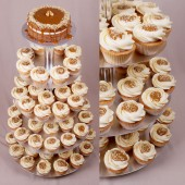 Dulce de Leche Wedding Cupcake set