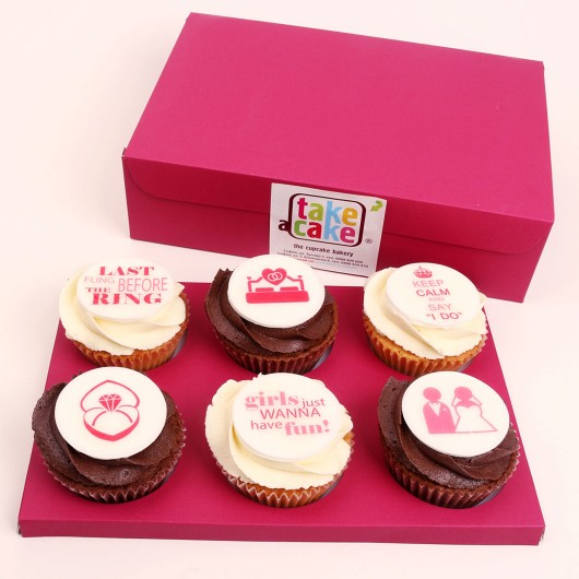 Bachelorette party Cupcake Box
