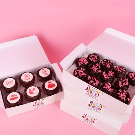 Bachelorette Party Cupcake Set