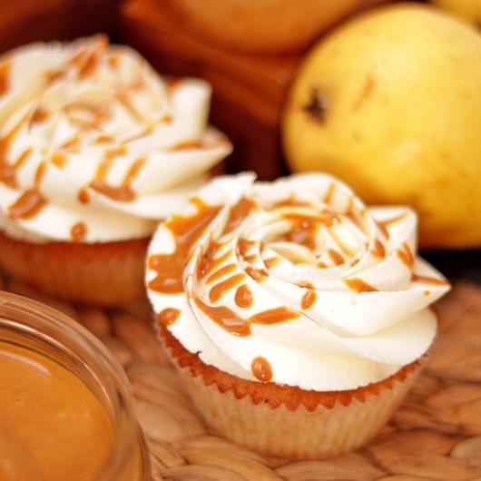 12 Pear Cupcakes Set