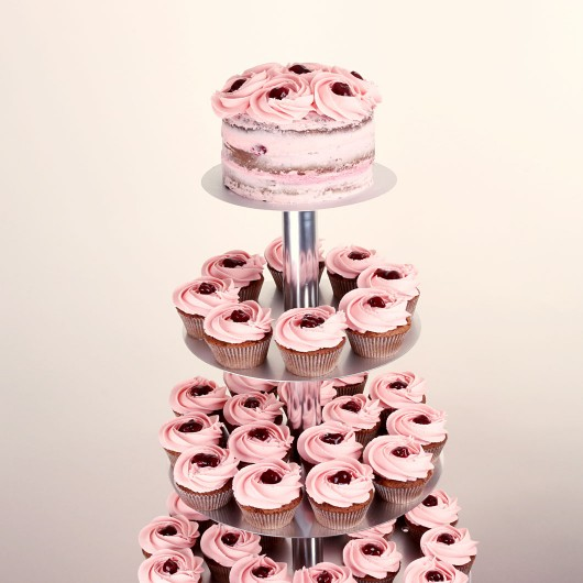 Cherry in Liquor Wedding Cupcake Set