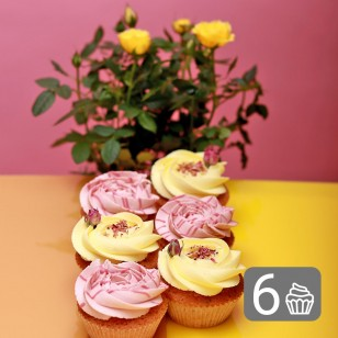 Bunch of Rose Cupcakes for 8 March
