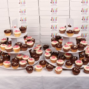 Mini Cupcakes for Large-Scale Events
