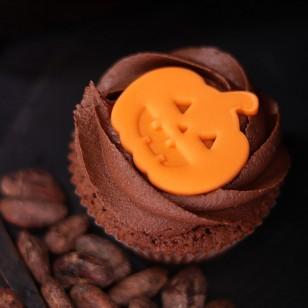 Cocoa Cupcake for Halloween