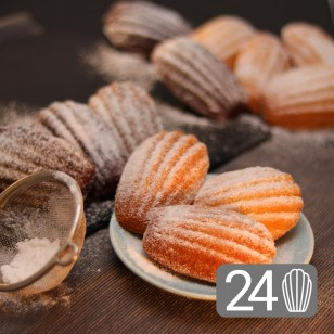 24 Assorted Madeleines