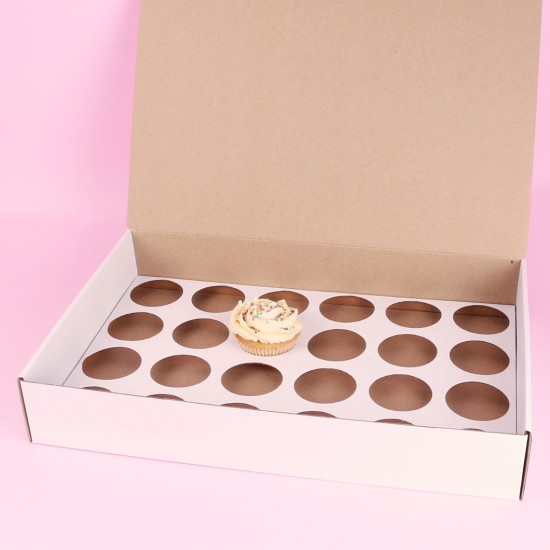 Box for 24 cupcakes