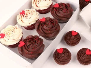 Celebrate love with a cupcake
