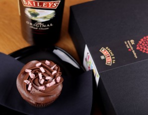 Cupcake with Baileys