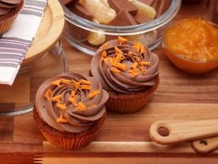 Рецепта за 12 бр. Капкейк Портокал и шоколад от Take a Cake