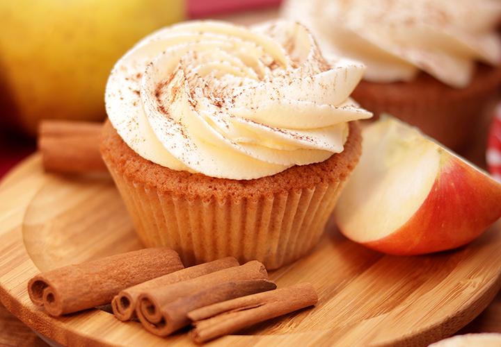 Капкейк Ябълка и канела – сладкиши с доставка навсякъде в София от Take a Cake Bakery