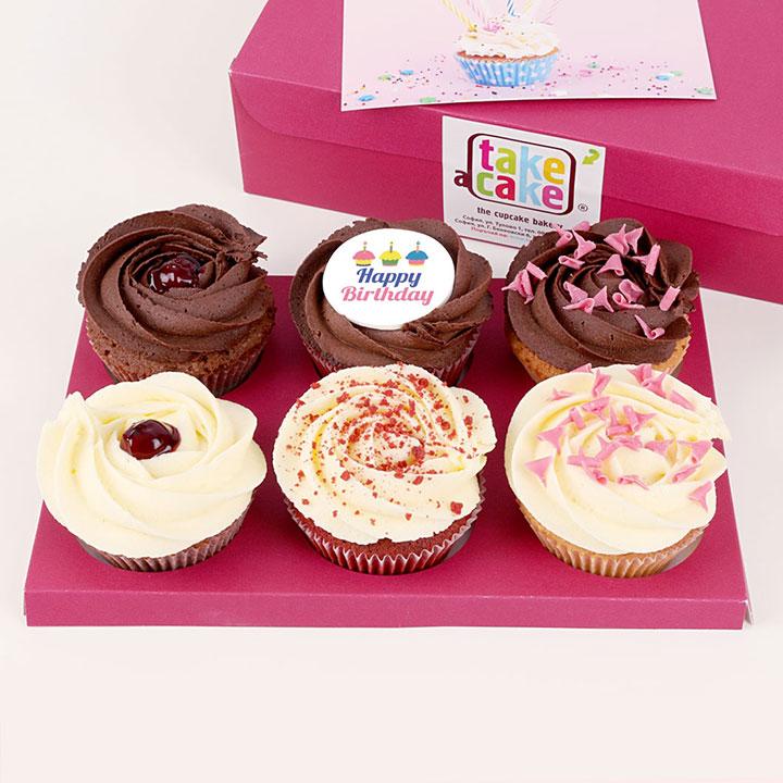 Поздрав за личните празици в офиса от Take a Cake