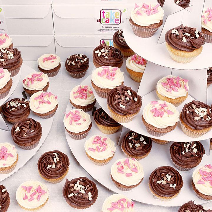 Мини кексчета за големи събития от Take a Cake