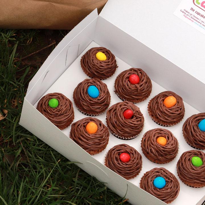 Великденски Мини кексчета от Take a Cake
