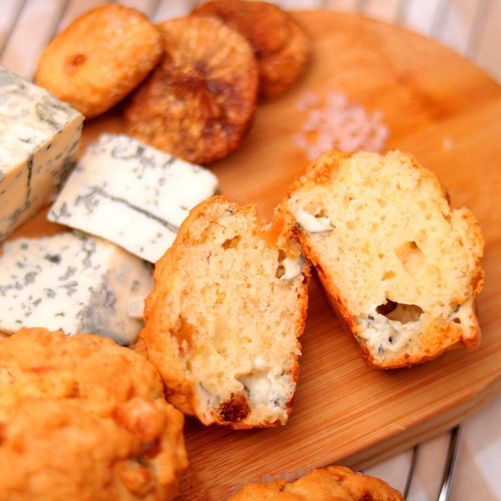 Мъфин Сушени смокини и синьо сирене от Take a Cake