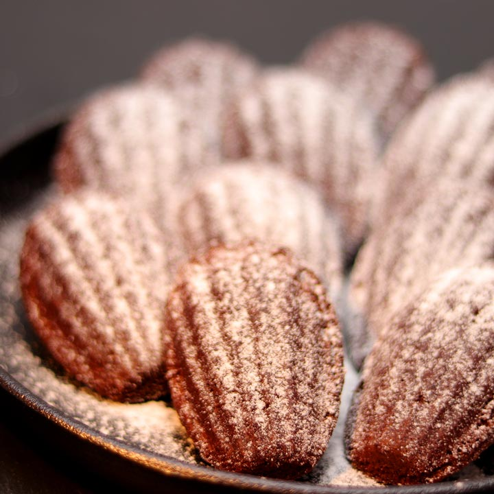 24 Cocoa Madeleines