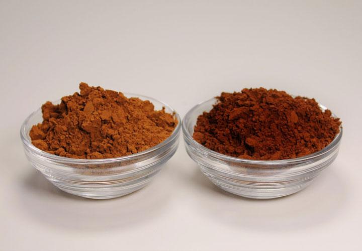 Сравнение на натурално и алкализирано какао