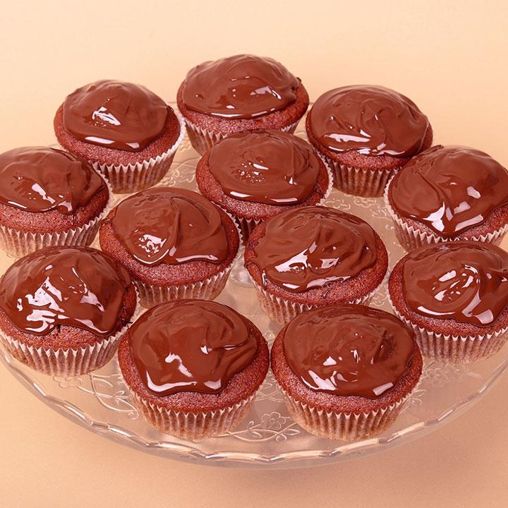 Веган Мъфин сет - без съставки от животински произход! От Take a Cake.