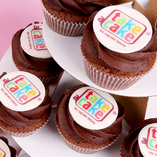 Branded cupcakes and corporate cupcake sets for every work related occasion.