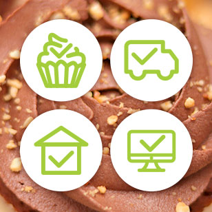 Cupcakes and muffins delivery to every home office in Sofia – from Take a Cake.