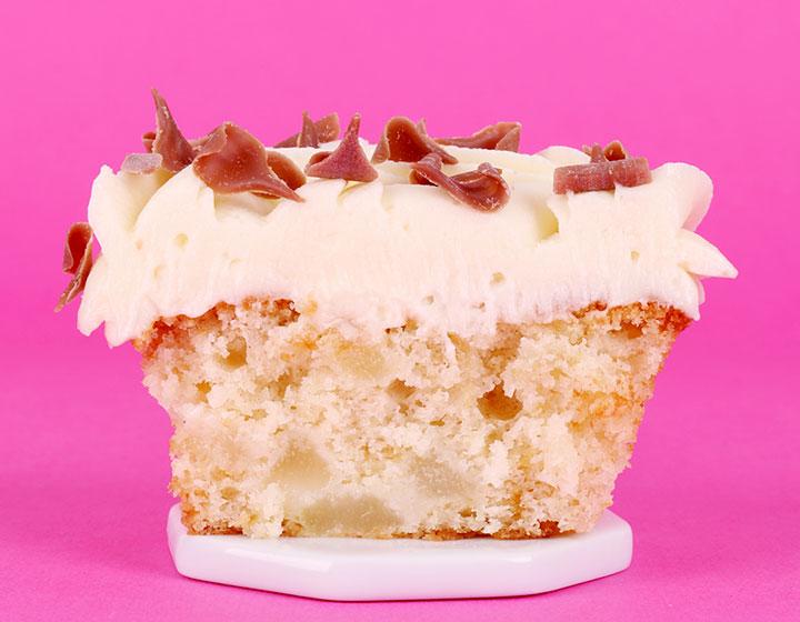 Pear Cupcake