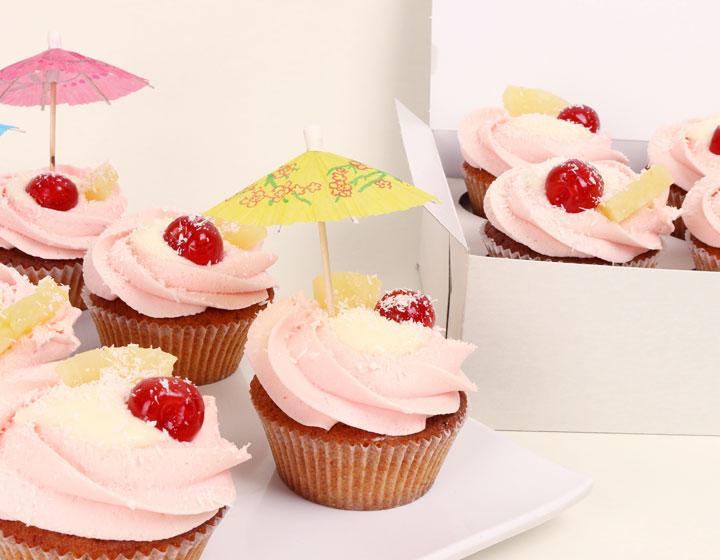Cupcake Pina Colada